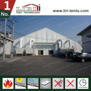 Luxury White New Design Curved Roof Fair Tent for Sale pictures & photos