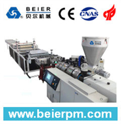 PVC+PMMA/Asa Plastic Corrugated Roof/Sheet Tile Extrusion Line pictures & photos