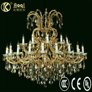 Newest Modern Design Beautiful Luxury Crystal Chandelier Lamp (AQ50003-20+10+1) pictures & photos