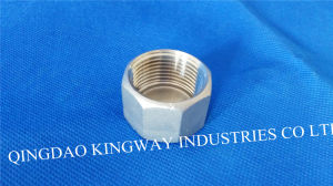Stainless Steel Threaded Cap, Hexagon (300) pictures & photos