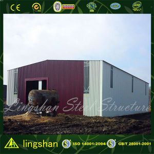 Lingshan Engineered Cheap Prefab Steel Structure Construction Building/Warehouse pictures & photos