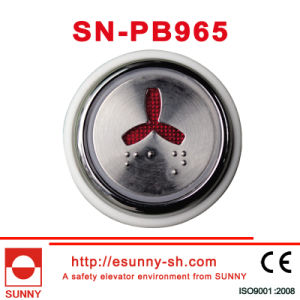 Lift Braille Push Button (SN-PB965) pictures & photos