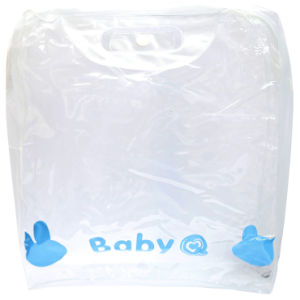 Hot Sale Stand up Clear PVC Plastic Bags for Cosmetics (FLC-9105) pictures & photos