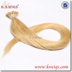 I-Tip Keratin Hair Extension Brazilian Remy Human Hair pictures & photos