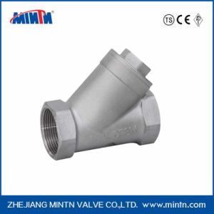 Stainless Steel Thread Connection Y-Spring Check Valve