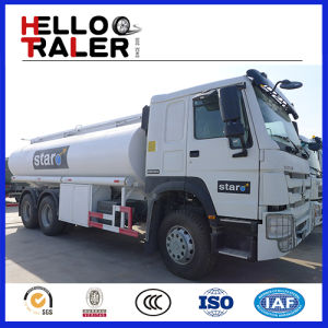 China Factory 3compartments Sinotruck 6*4 Carbon Steel Fuel/Oil/Diesel Tanker/Tank Truck pictures & photos