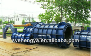 Steel Reinforced Concrete Pipe Making Machine Conrete Gutter Pipe Mould Factory Price pictures & photos