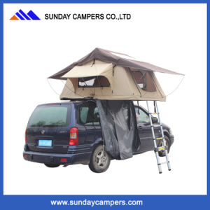 4WD Wind Resistant Waterproof Ripstop Canvas Roof Top Tent pictures & photos