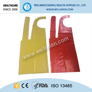 Hospital Disposable PE Surgical Apron for Medical pictures & photos