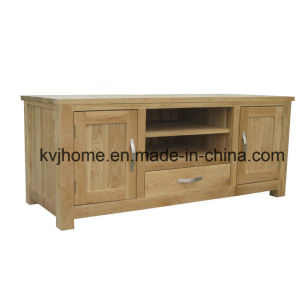 Living Room Solid Oak TV Cabinet (NIC-05) pictures & photos