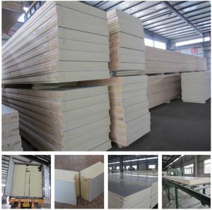 EPS Sandwich Panel Colour Steel Coil/Galvanized Steel Panel pictures & photos