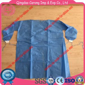 Disposable Nonwoven Surgical Gown Ce Approval pictures & photos