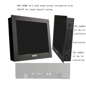 10.4 Inch Industrial Grade TFT LCD Panel Metal Enclosure Embedded Vesa Industrial LCD Monitor