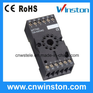 Mt740 Relay Socket with CE pictures & photos