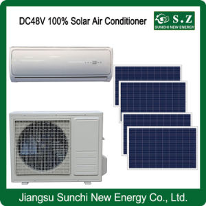 DC48V off Grid Speed Solar Energy Wall Mount Air Conditioner pictures & photos