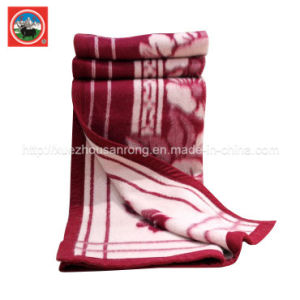 Tibet-Sheep Wool Blanket/′ Cashmere Fabric/ Yak Wool Textile/Bedding pictures & photos