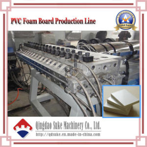 WPC Crust Foam Board Making Extrusion Machine with Ce and ISO pictures & photos