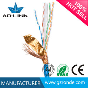 0.56 Pure Copper Double Shielded Twisted Pair CAT6 Cable