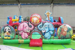 Magical Animal World Inflatable Combo, Fun Games Amusement Park Inflatable Castle B3081 pictures & photos