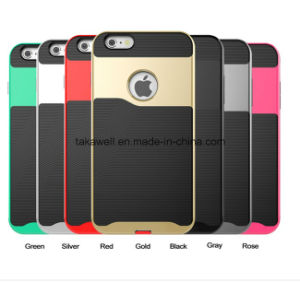 High Quality Mobile Phone Accessory Shockproof Polyester TPU Cell Phone Case for iPhone 6 Mobile Cover Case pictures & photos