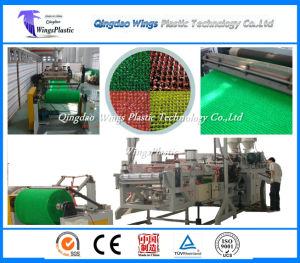 Plastic LDPE Grass Mat Extrusion Line / Production Line / Manufacturing Machine pictures & photos