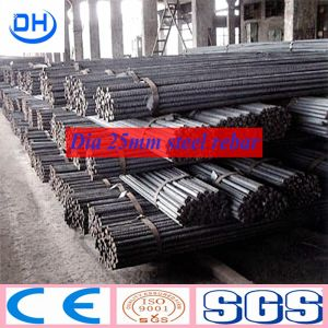 Hot Rolled Galvanized Deformed Steel Rebar pictures & photos