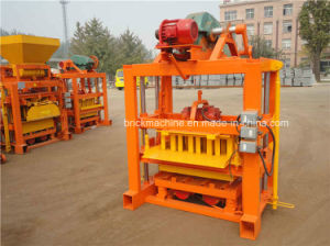 Qtj4-40 Lego Small Concrete Hollow Brick Making Construction Machine pictures & photos
