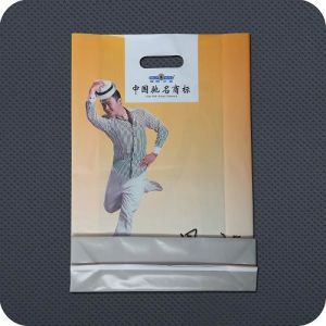 Custom Printed Premium Plastic Carrier Shopping Bag pictures & photos