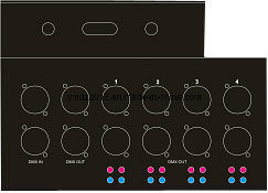 DMX Signal Splitter/DMX 512 Signal Distributor/DMX Signal Aamplifier pictures & photos