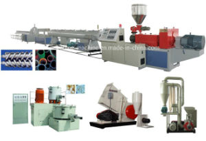 110 160 200 250mm PVC Drainage Pipe Making Machines/Extrusion Machines pictures & photos