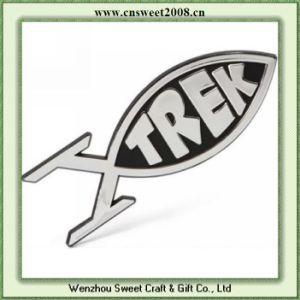 Trek Fish Chrome Badge Car Badge (S1M038) pictures & photos