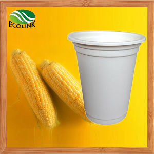 Cornstarch 16oz 470ml Disposable Biodegradable Coffee Cup pictures & photos