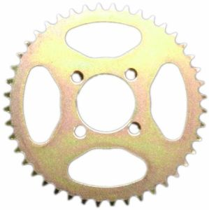 Motorcycle Rear Sprocket with Rainbow Color pictures & photos