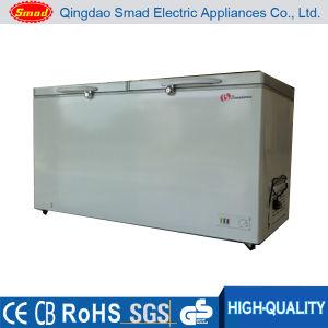 Top Open Double Door Deep Chest Freezer (BD438) pictures & photos