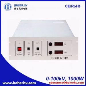 High power supply 100kV 1000W for general purpose LAS-230VAC-P1000-100K-4U pictures & photos