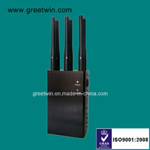 6 Channels Portable Signal Jammer Cell Phone GPS WiFi Jammer (GW-JN6) pictures & photos