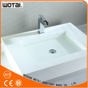 Single Lever Deck Mounted Basin Faucet pictures & photos