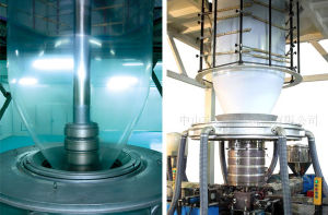 Three-Layer Common Extruding Rotary Die-Head Film Blowing Machine pictures & photos