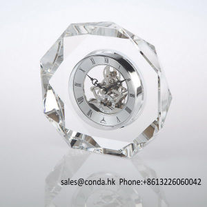 Luxury Crystal Promotion Gift Clock M-5141 pictures & photos