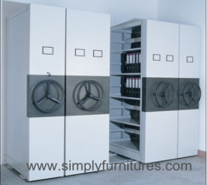 High Density Mobile File Storage Cabinet Shelving pictures & photos