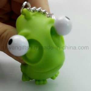 Novelty Pop Eye out Animal Squeeze Keychain (EYT058) pictures & photos