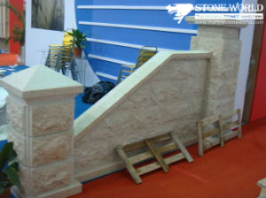 Yellow Granite Tiles for Outdoor Walls (CS097) pictures & photos