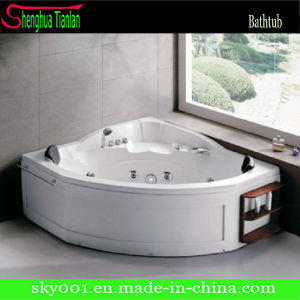 Indoor Round Modern Sexy Whirlpool Bath Tub (TL-311) pictures & photos