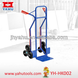 Heavy Duty Hand Pallet Truck, Stair Climbing Hand Trolley pictures & photos