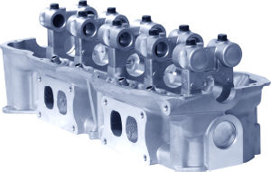 Aluminum Cylinder Head for Nissan Z24-CNG (11042-1A001) pictures & photos