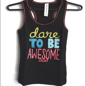 Printed Singlet Manufacturer /Lady Printed Singlet pictures & photos