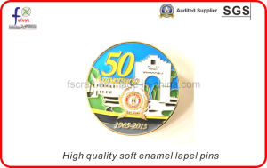 Gold Plating Soft Enamel Pin Badges Lapel Pins Animal Pins pictures & photos