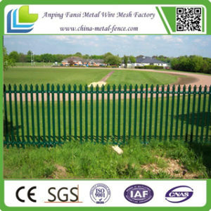 2.75m Powder Coated Palisade Fence with Best Price pictures & photos