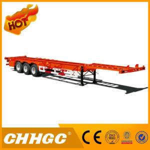Transport All Kinds Containers BPW Axle Skeleton Container Trailer pictures & photos