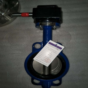 Soft Seal The Wafer Butterfly Valve pictures & photos